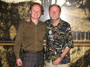 Jamie and Ravenswood Winemaker/Founder Joel Peterson