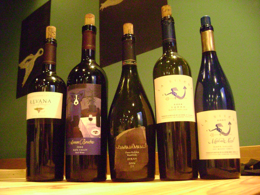 Fives wines from Heidi Peterson-Barret