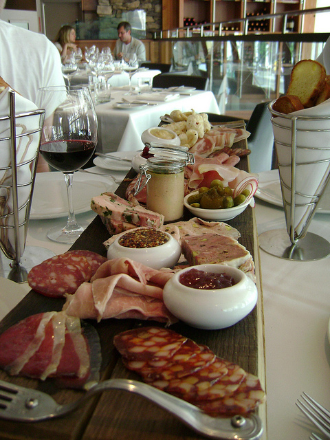 Chef Michael Steh's Charcuterie... not to be missed